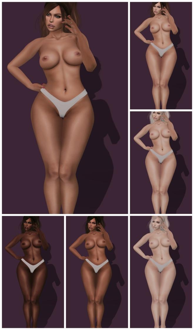Mila Skin PicMonkey Collage