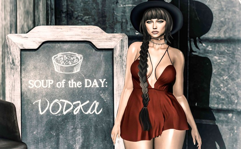 Soup of the day –Vodka!